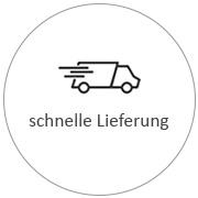 Icon für schnelle Lieferung